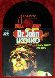 Single Dr. John: Iko Iko (Atlantic ATL 10 158) D 1972