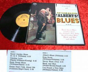 LP Albert Nicholas: Albert's Blues