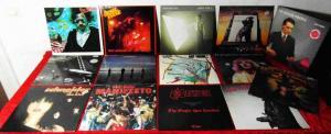 15 Langspielplatten ROCK/POP - SAXON MOLLY HATCHET FRAMPTON.. - Vinylsammlung -