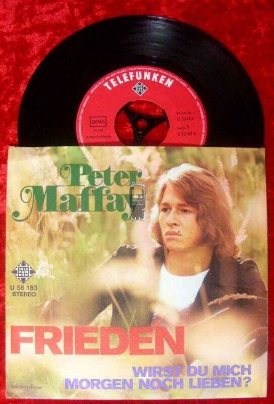 Single Peter Maffay: Frieden