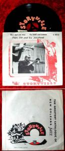 Single Papa Dib & His Jazzband: Mary don´t you weep (Storyville A 45032)