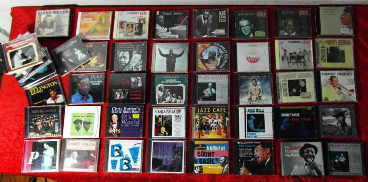 54 CD Jazz / Swing - Sammlung - von Chris Barber bis Woody Herman -