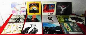 15 Langspielplatten ROCK/POP - CABARET VOLTAIRE CREAM..... - Vinylsammlung -