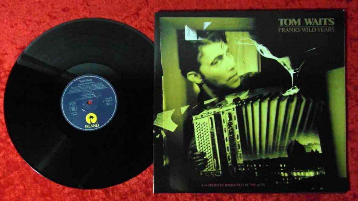 LP Tom Waits: Frank´s Wild Years (Island 208 216) D 1987