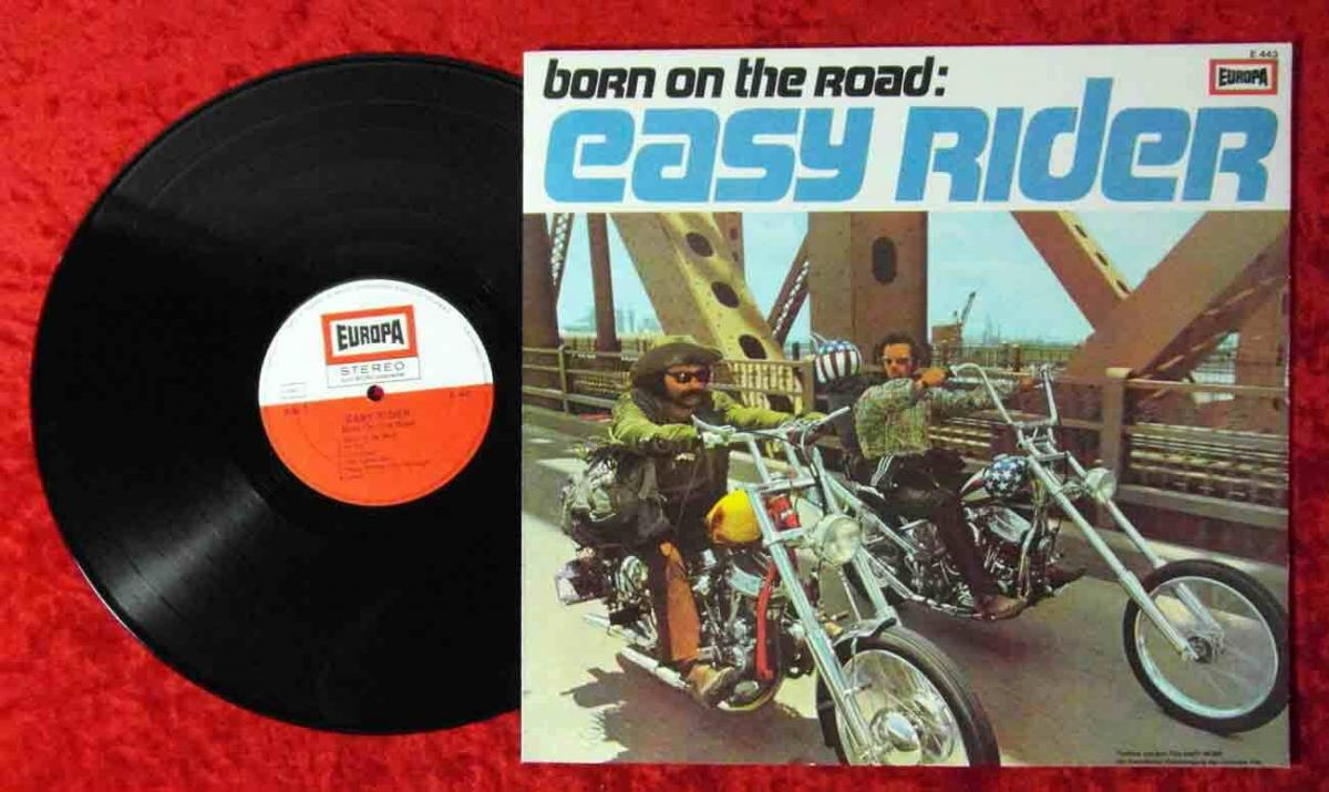 LP Born On The Road - Easy Rider (Europa E 443) feat Petards Elecric Food....(D)