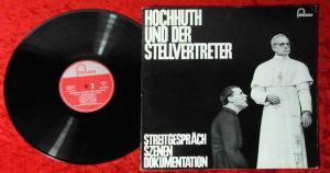 LP Hochhuth und der Stellvertreter (Fontana 681 520 EL) D 1964 Dieter Borsche