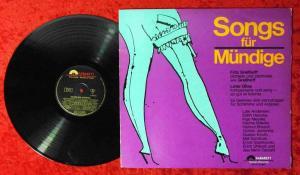LP Songs für Mündige (Polydor 47 805) Hans Last