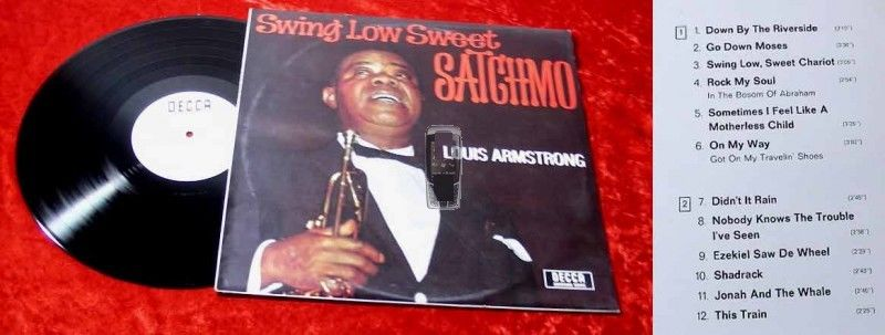 LP Louis Armstrong: Swing Low Sweet Satchmo
