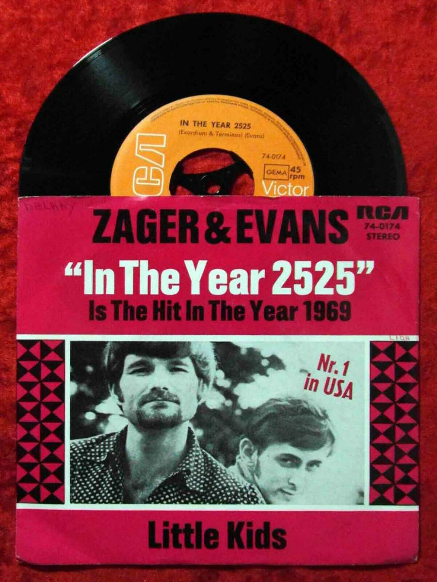 Single Zager & Evans: In The Year 2525 (RCA 74-0174) D 0