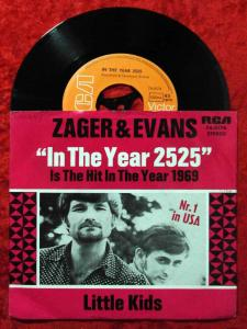 Single Zager & Evans: In The Year 2525 (RCA 74-0174) D