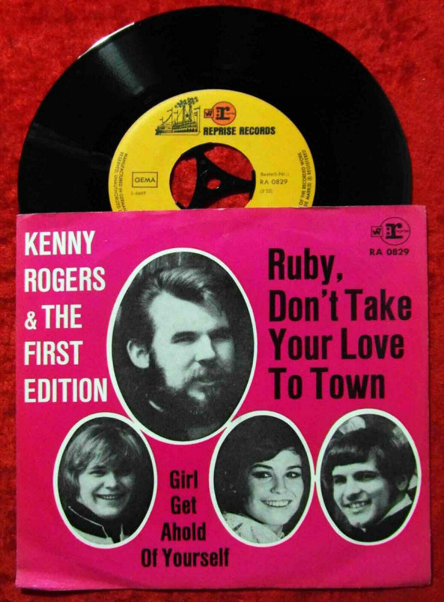 Single Kenny Rogers & First Edition: Ruby Don´t Take Your Love To Town (Reprise) 0