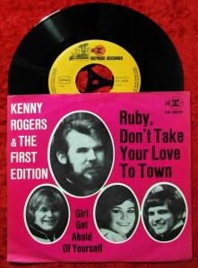 Single Kenny Rogers & First Edition: Ruby Don´t Take Your Love To Town (Reprise)