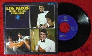 Single Los Payos: Maria Isabel (Hispavox H 434) Spanien