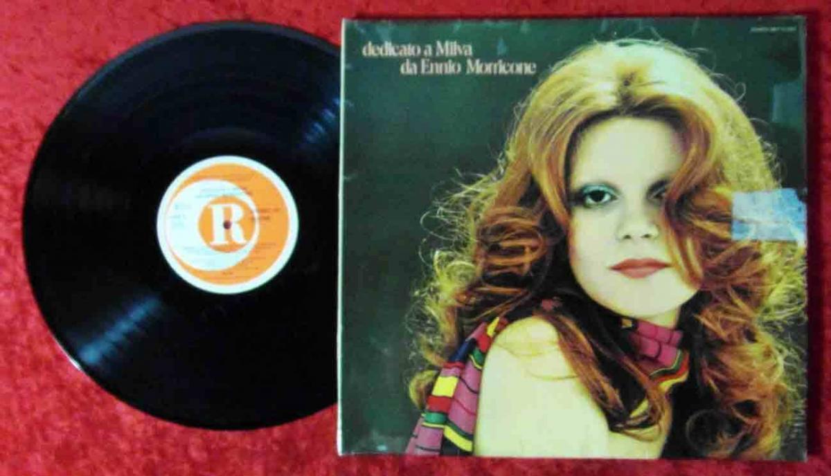 LP Milva: Dediacto a Milva da Ennio Morricone (Dischi MLP 15 928) D 1977 0