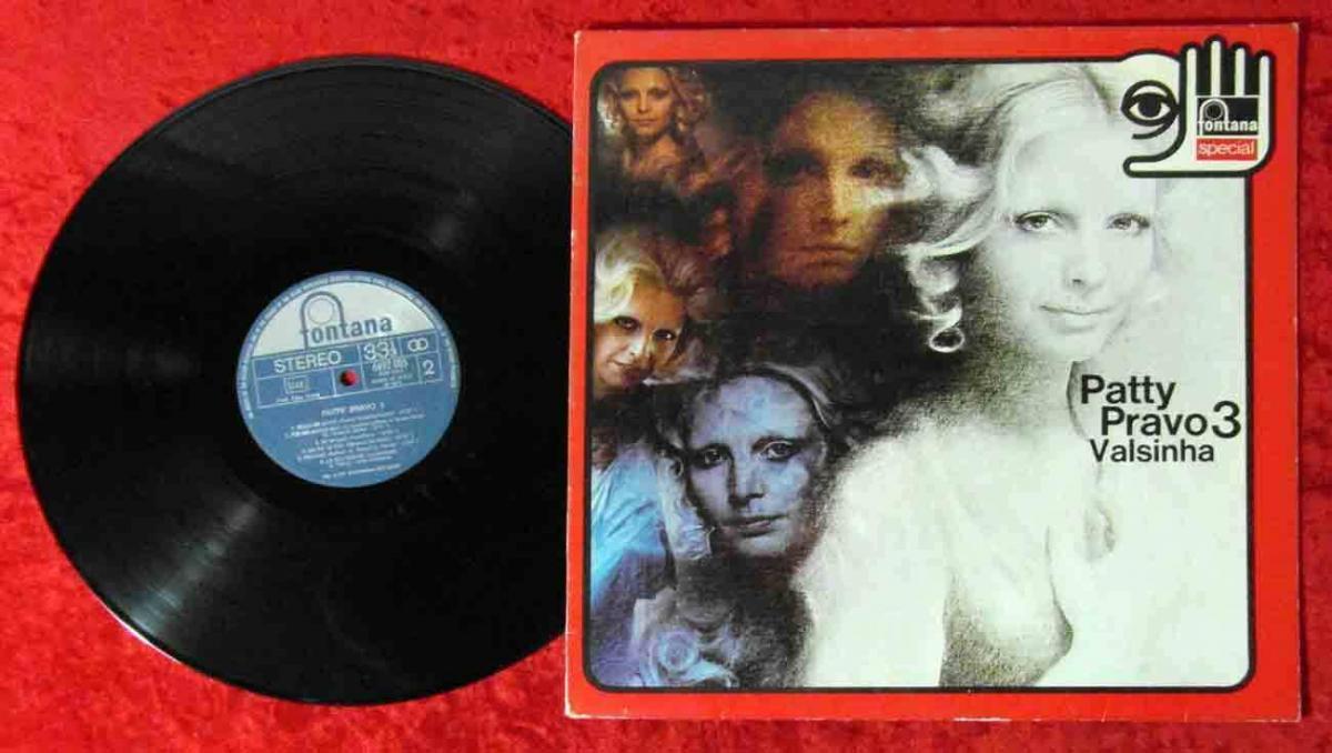 LP Patty Pravo: Patty Pravo 3 Valsinha (Fontana 6492 005) Italy 1981