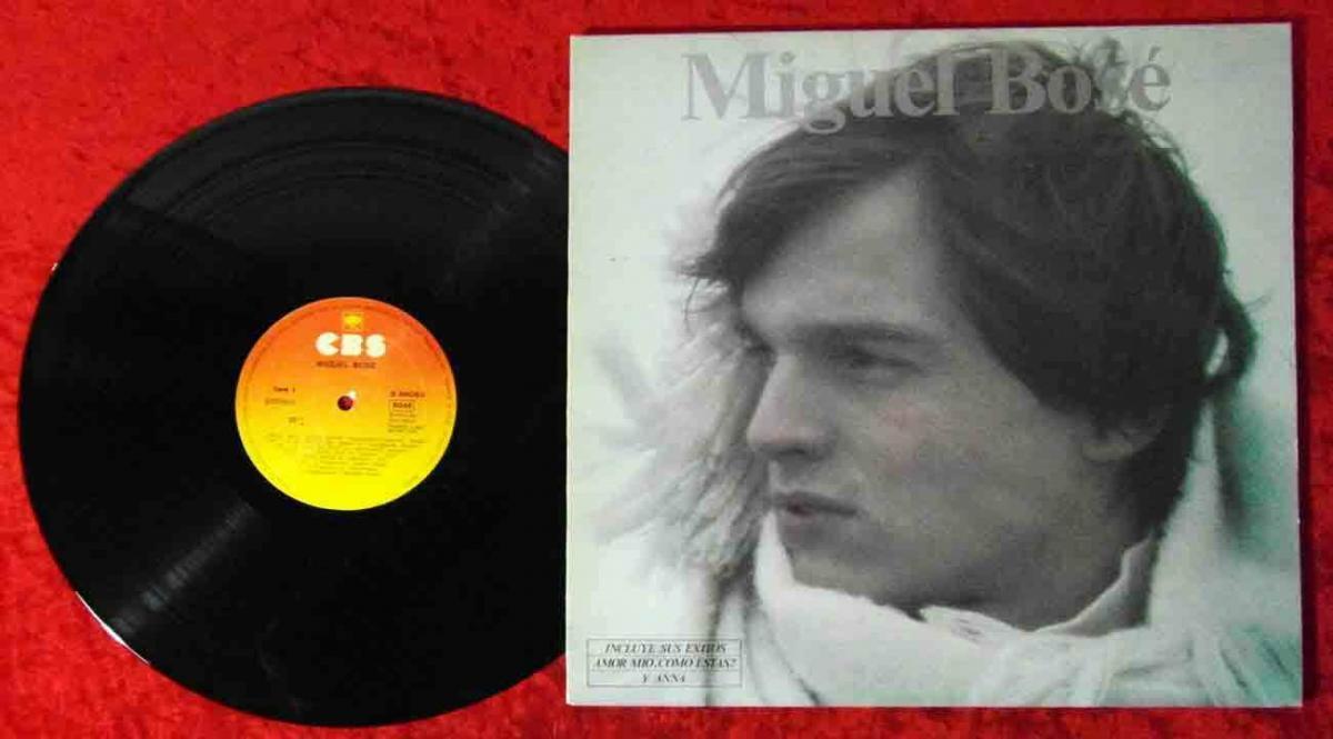 LP Miguel Bosé (CBS S 86063) Spanien 1978