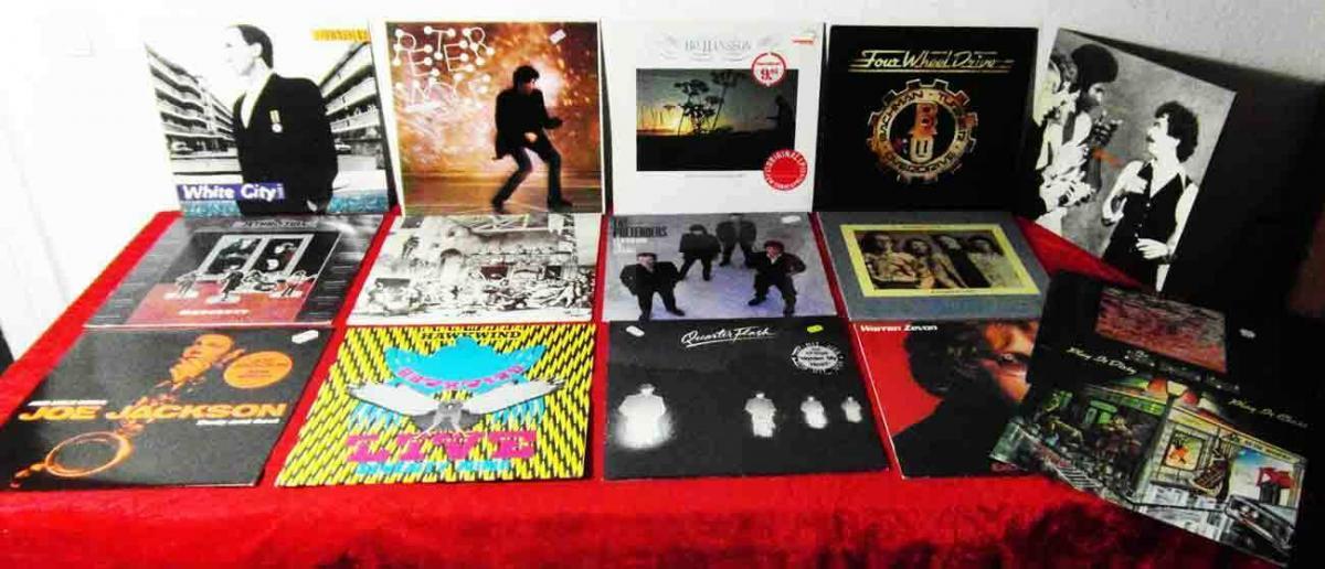 15 Langspielplatten ROCK/POP - JETHRO TULL HAWKWIND.... - Vinylsammlung -
