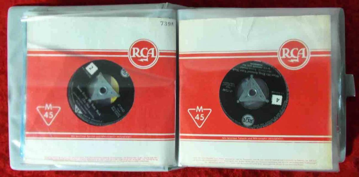 20 Original Singles im Album ROCK`n ROLL ELVIS PRESLEY...  - Vinylsammlung - 2