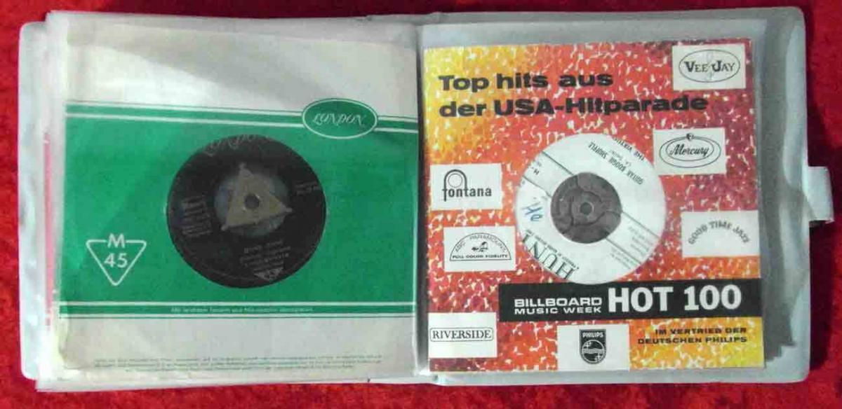 20 Original Singles im Album ROCK`n ROLL ELVIS PRESLEY...  - Vinylsammlung - 4