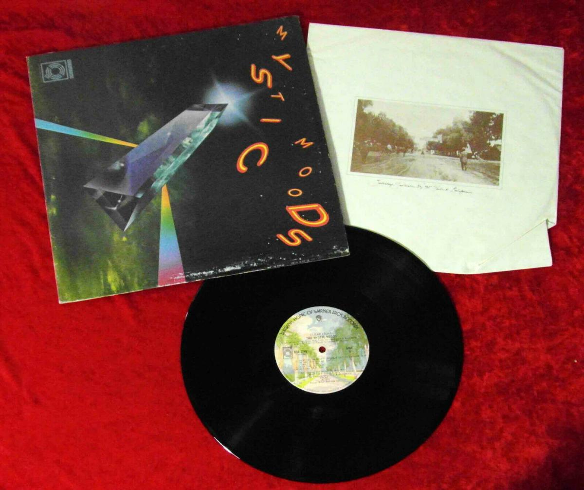 LP Mystic Moods Orchestra: Clear Light (Warner Bros. BS4 2745) Quadrophonie