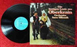 LP Orchester Sava Slibonik: Die lustigen Leute aus Oberkrain (RCA PJL-1-4041) D