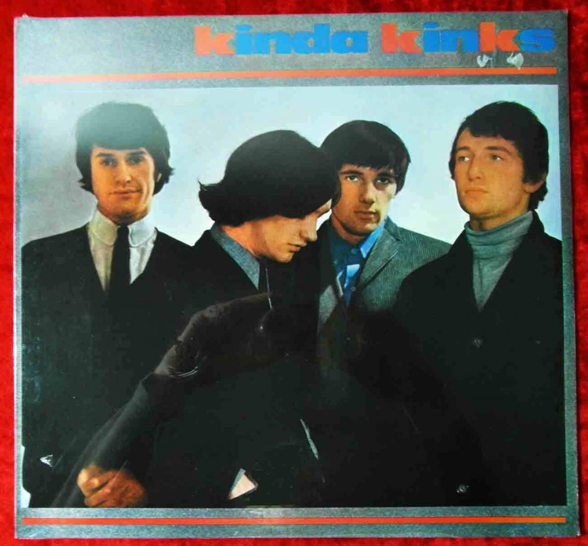 LP Kinks: Kinda Kinks (Pye 202 036-241)D  Still Sealed!!