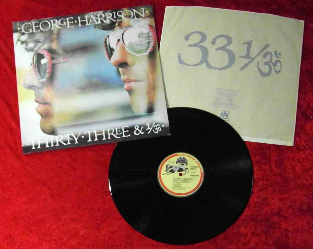 LP George Harrison: Thirty Three & 1/30 (Dark Horse 56 319) D 1976