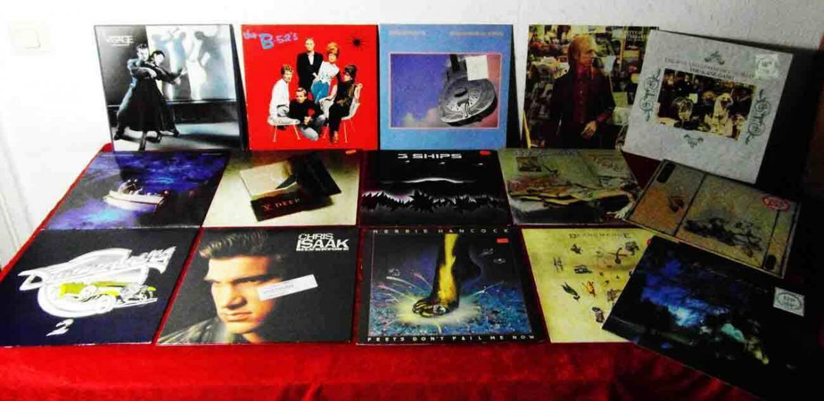 15 Langspielplatten ROCK/POP - DIRE STRAITS VISAGE... - Vinylsammlung -