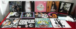 15 Langspielplatten ROCK/POP - EASY RIDER LEONARD COHEN XTC.. - Vinylsammlung -