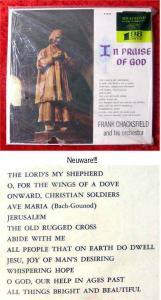 LP Frank Chacksfield: In Praise of God (Neuware)