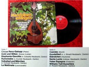 LP Niederländisches Mandolinenorchester Breda Jo Sambo