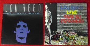 3 Langspielplatten LOU REED - Vinylsammlung -