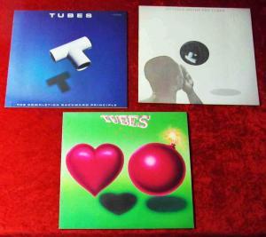 3 Langspielplatten TUBES - Vinylsammlung -