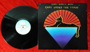 LP Jerry Garcia Band: Cats Under The Stars (Arista AB 4160) US 1978