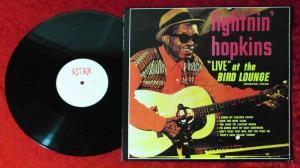 LP Lightnin Hopkins: Live at Bird Lounge (Astan 20053) CH 1984