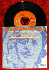 Single Domenico Modugno: Amara Terra Mia (RCA 74-16229) D 1972