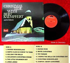 LP Bert Kaempfert: Christmas Tide with... (Polydor 46 408) D