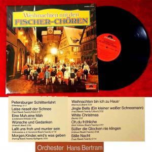 LP Fischer Chöre: Weihnachten mit den Fischer Chören (Polydor 27 410-0) D 1972