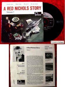 EP Red Nichols Story Vol. 1 (Fontana 467 092) NL