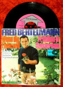 Single Fred Bertelmann: Wenn die Liebe will (TWR 14 015 AT) D 1967