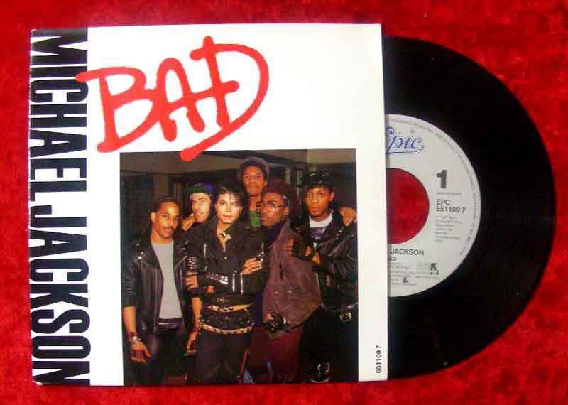 Single Michael Jackson: Bad 0