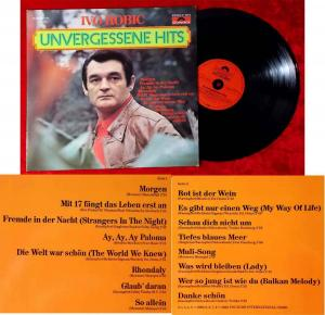 LP Ivo Robic: Unvergessene Hits (Polydor 31 909 5 ) D 1981
