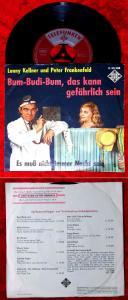 Single Lonny Kellner & Peter Frankenfeld: Bum-Budi-Bum, das kann gefährlich sein