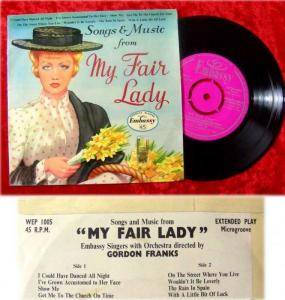 EP Embassy Singers: Songs & Music from My Fair Lady