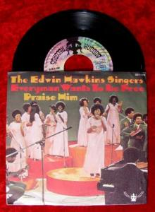 Single Edwin Hawkins Singers Everyman wants to be free