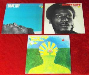 3 Langspielplatten JIMMY CLIFF  - Vinylsammlung -