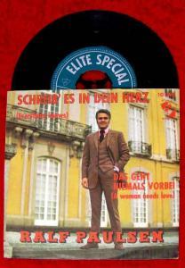 Single Ralf Paulsen: Schreib es in Dein Herz (Elite Special 10 008)