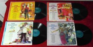 4 Langspielplatten JAZZ HISTORY (Capitol Records) Vinylsammlung