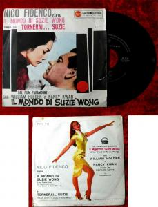 Single Nico Fidenco: Il Mondo di Suzie Wong (William Holden / Nancy Kwan) I 1960
