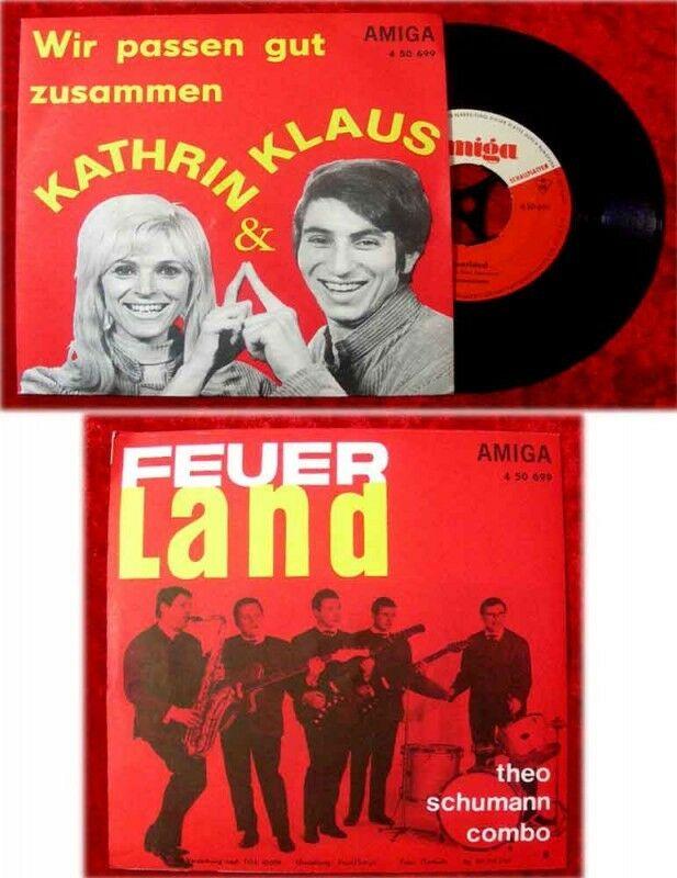 DDR Vinyl Amiga single Quartett + Roland Kaiser/ Peter